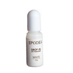 Pigment do żywic transparentny biały - koncentrat - 10 gram